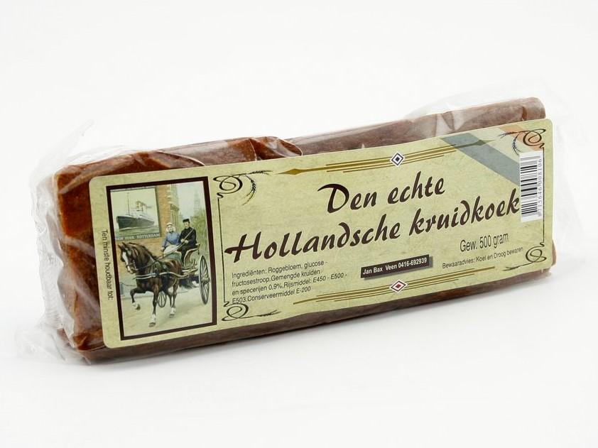 Den echte Hollandsche kruidkoek