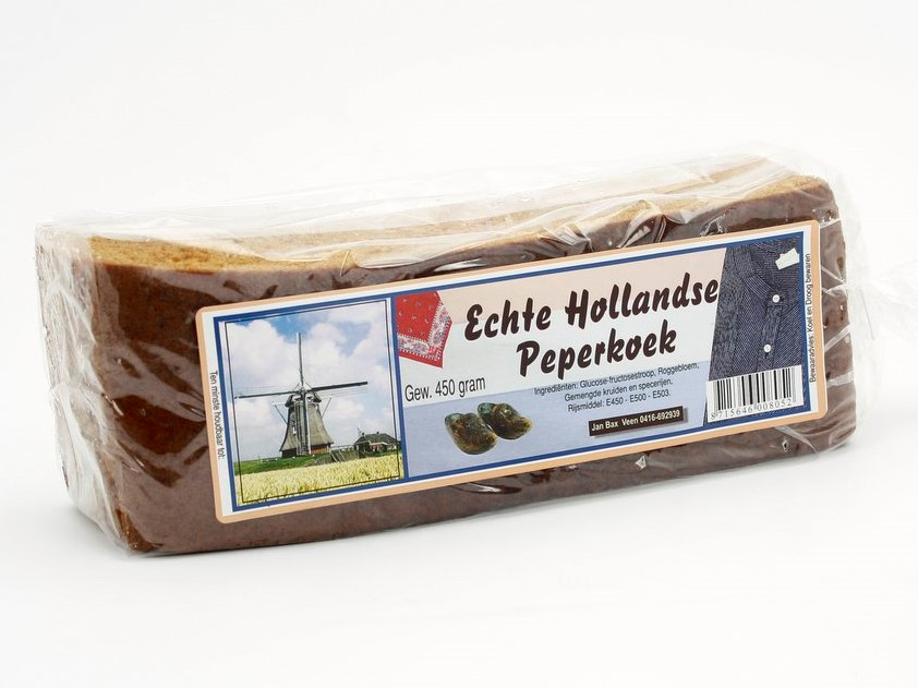 Echte Hollandse peperkoek