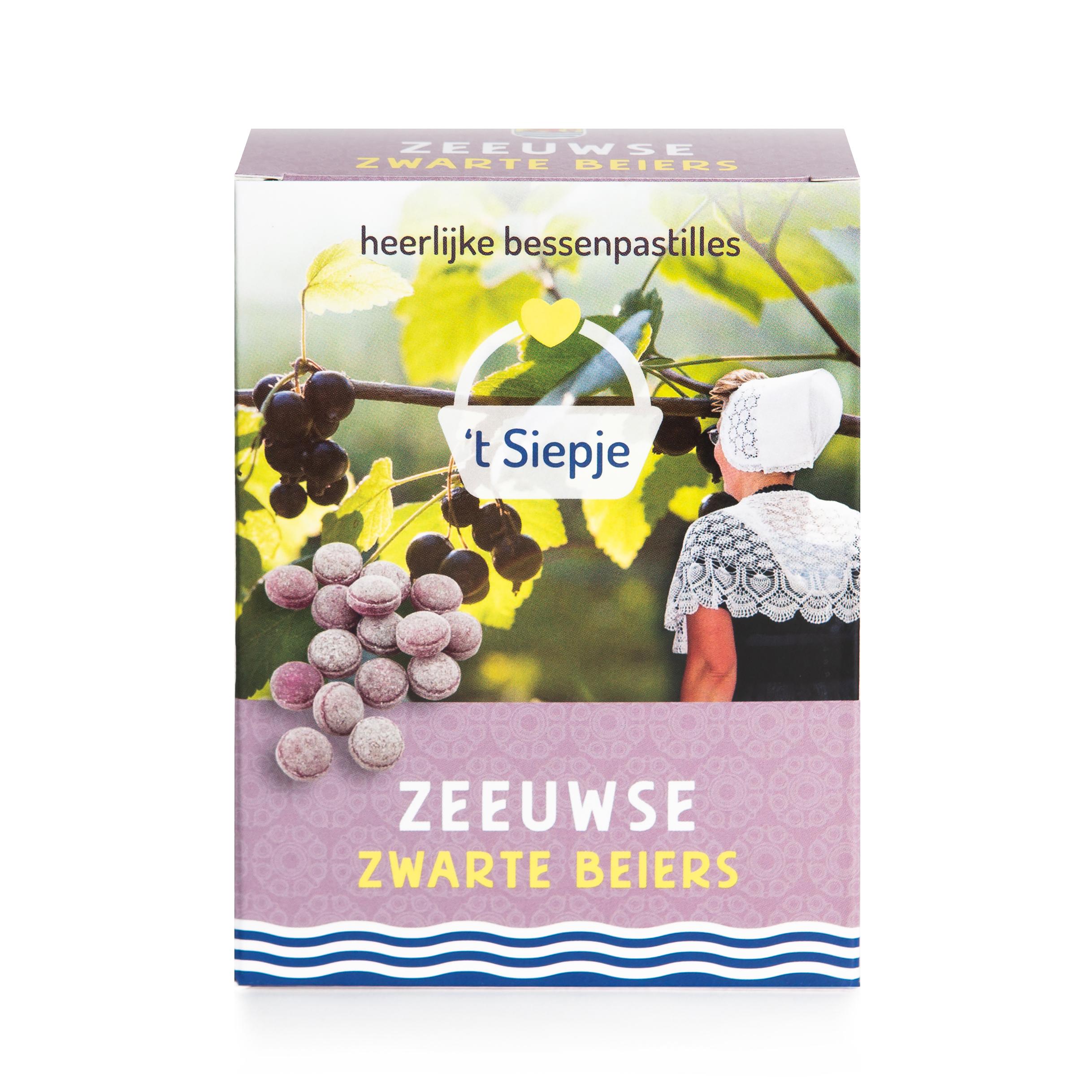 Zwarte beiers (bessen) snoepdoos